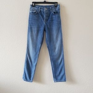 Topshop Moto Skinny Ankle Jeans 30